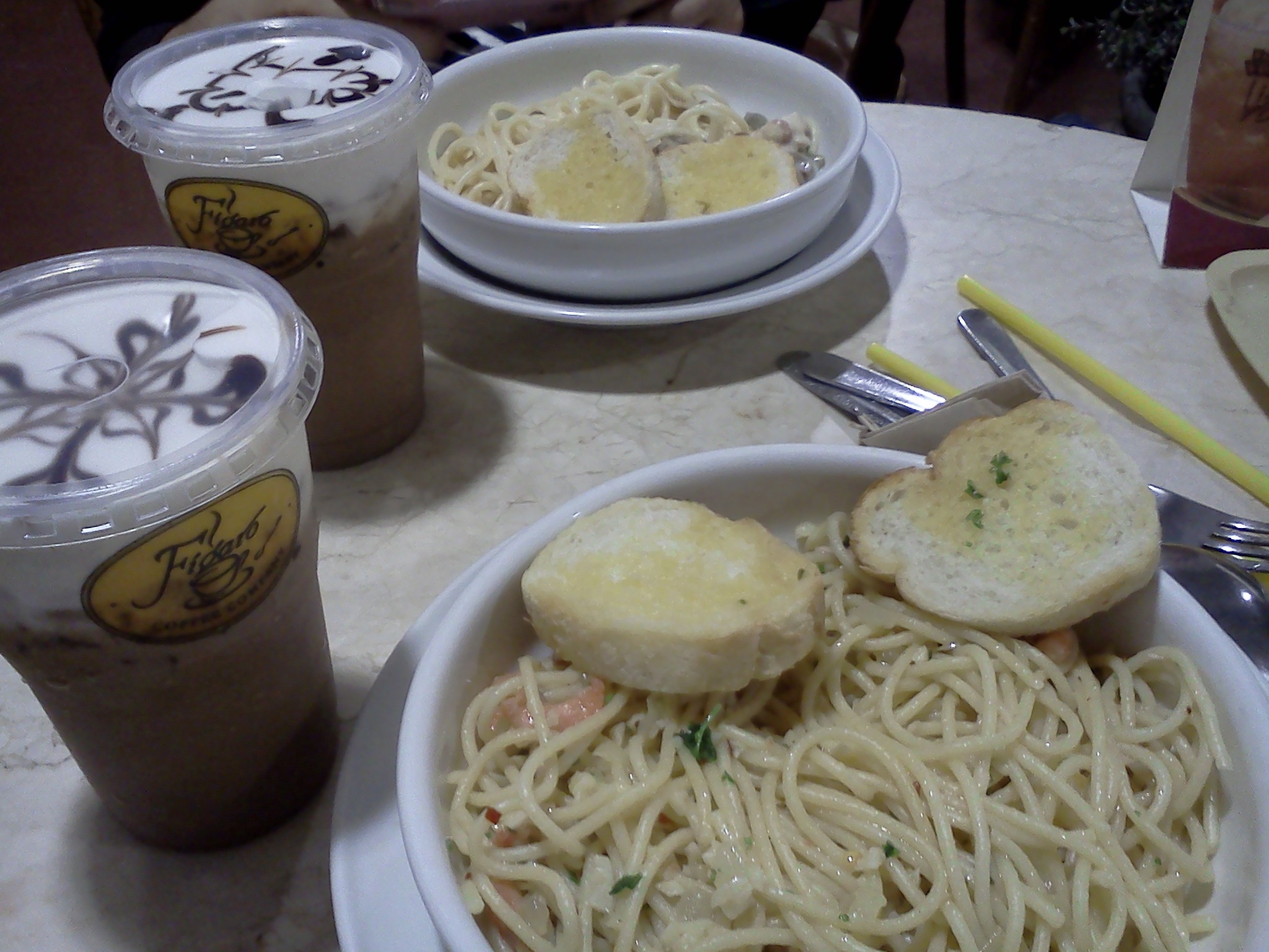Food in Figaro, SM Megamall