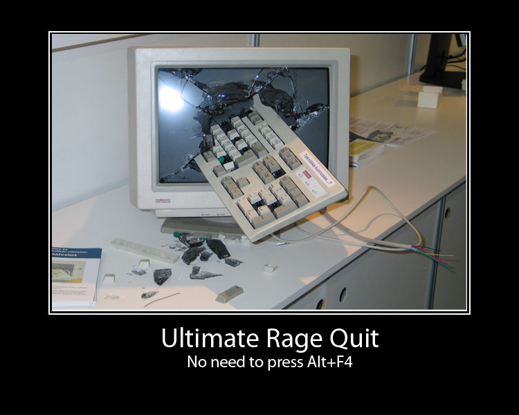 Ultimate Rage Quit