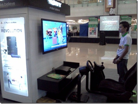 Sony Booth in Technolife