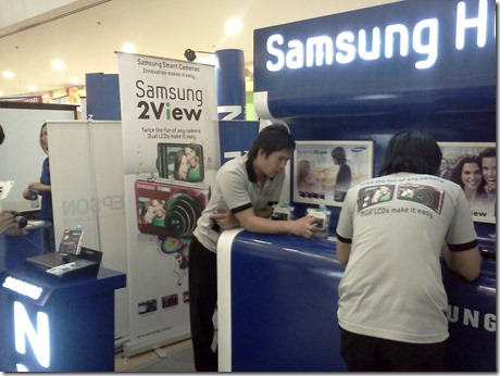 Samsung Booth in Technolife