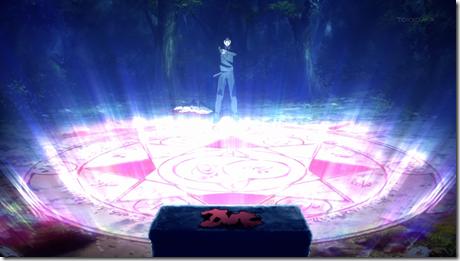 Waver Velvet summoning a Servant