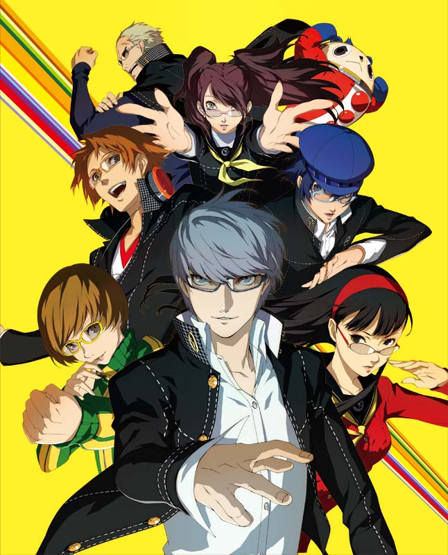 Persona 4 Renders PNG Files