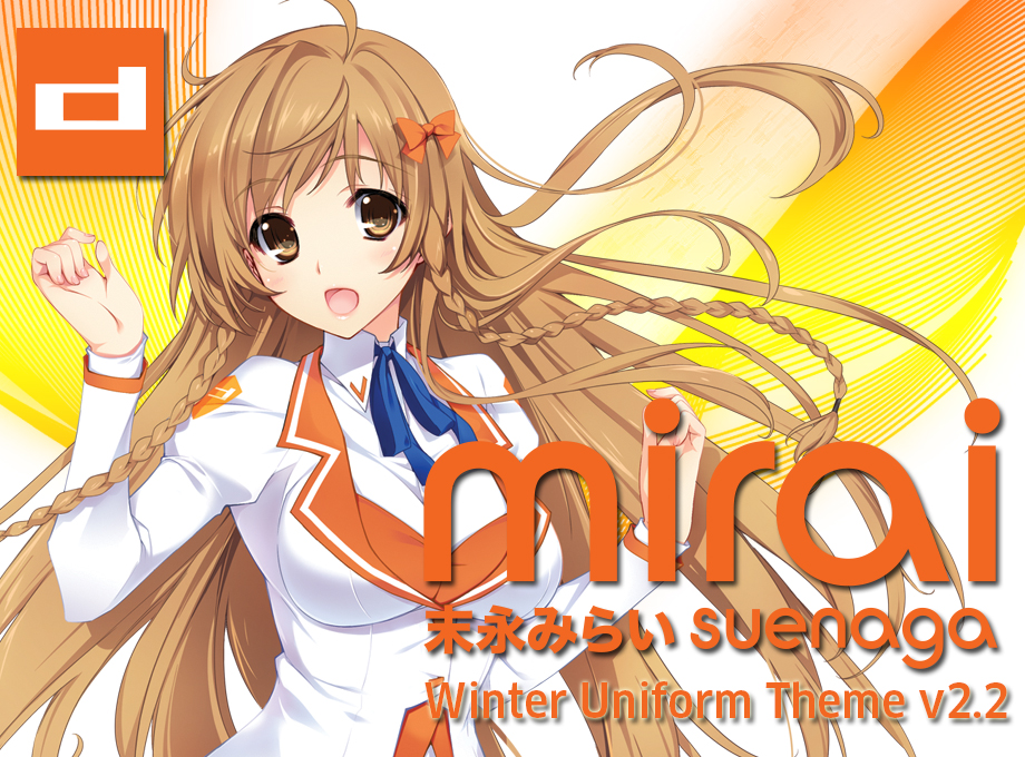 [Chrome Theme] Mirai Suenaga Version 2