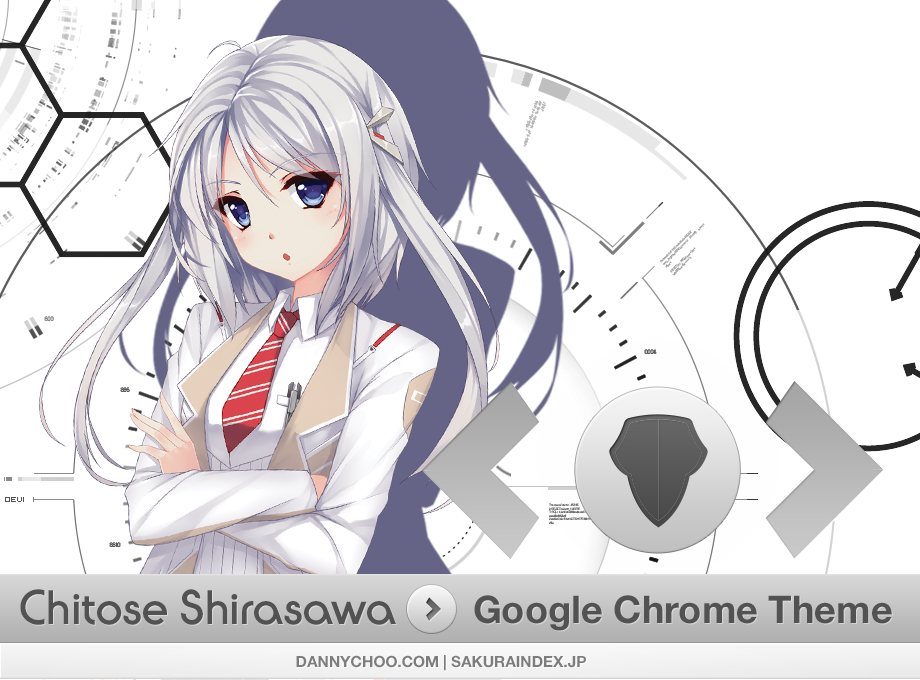 [Chrome Theme] Chitose Shirasawa