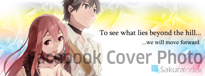 Facebook Cover Photo: Maou & Yuusha