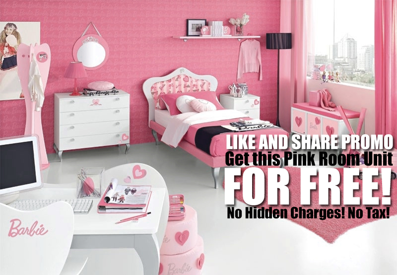 Facebook Like and Share Promo! Get This Room Unit for Free!
