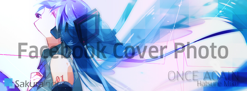 Facebook Cover Photo: Hatsune Miku