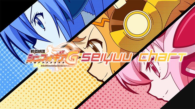 Seiyuu Chart: Senki Zesshou Symphogear G