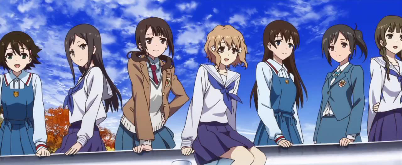 True Tears x Hanasaku Iroha x Tari Tari Joint Concert BD to release on Christmas