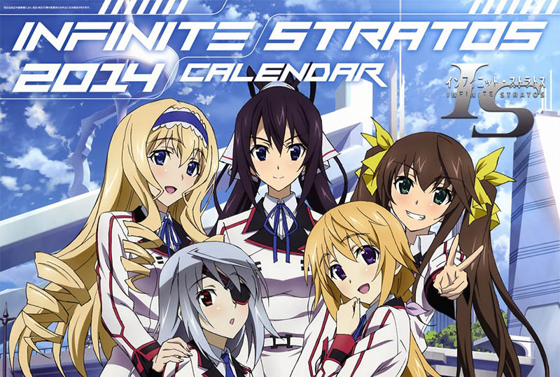 IS: Infinite Stratos 2 2014 Calendar