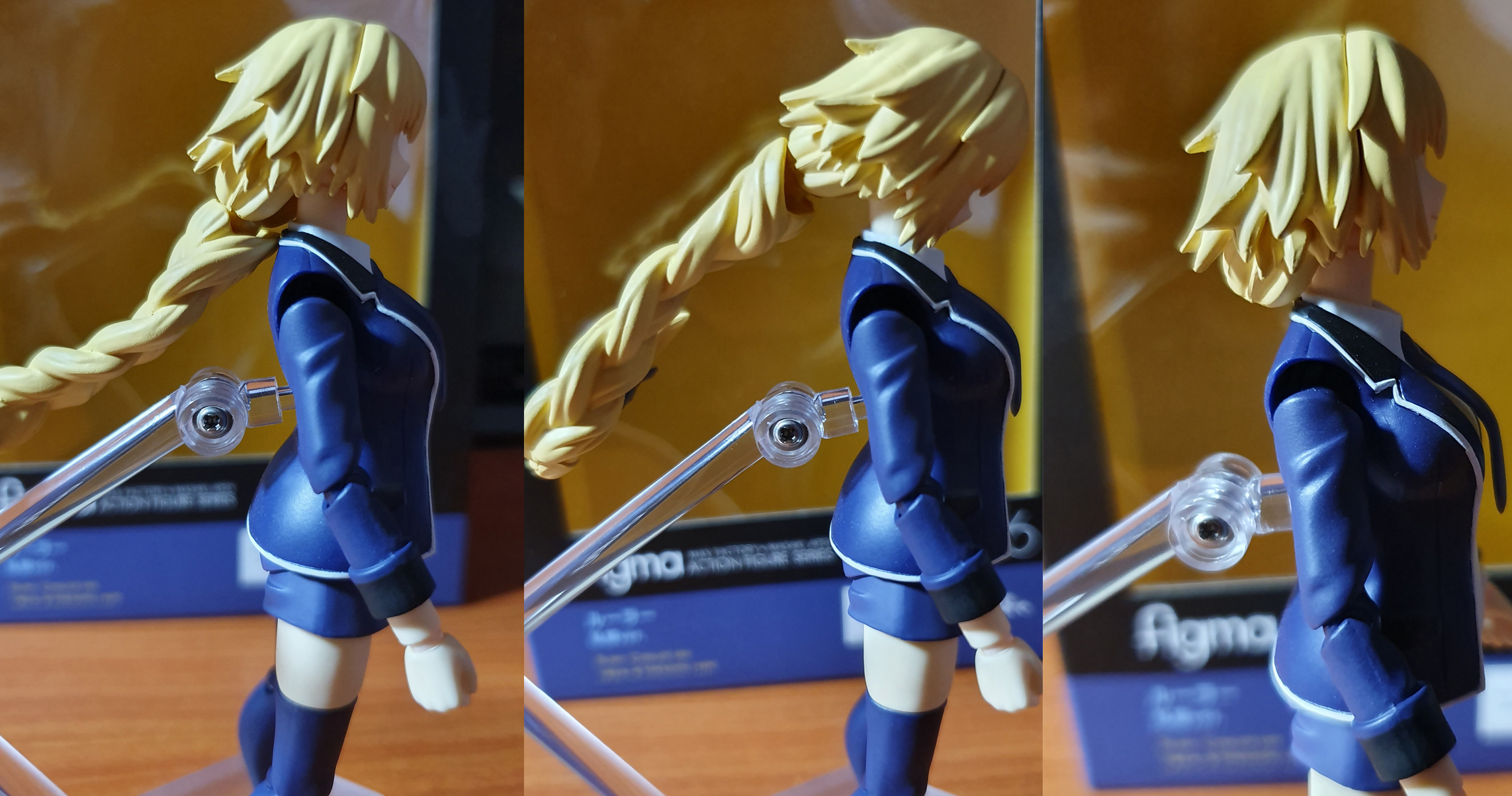 Figma Casual Jeanne head articulation