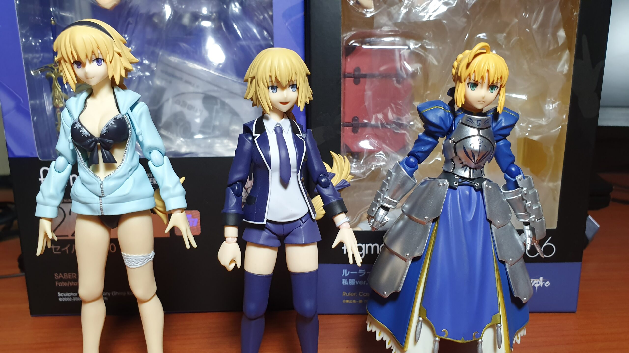 Figma Casual Jeanne height comparison