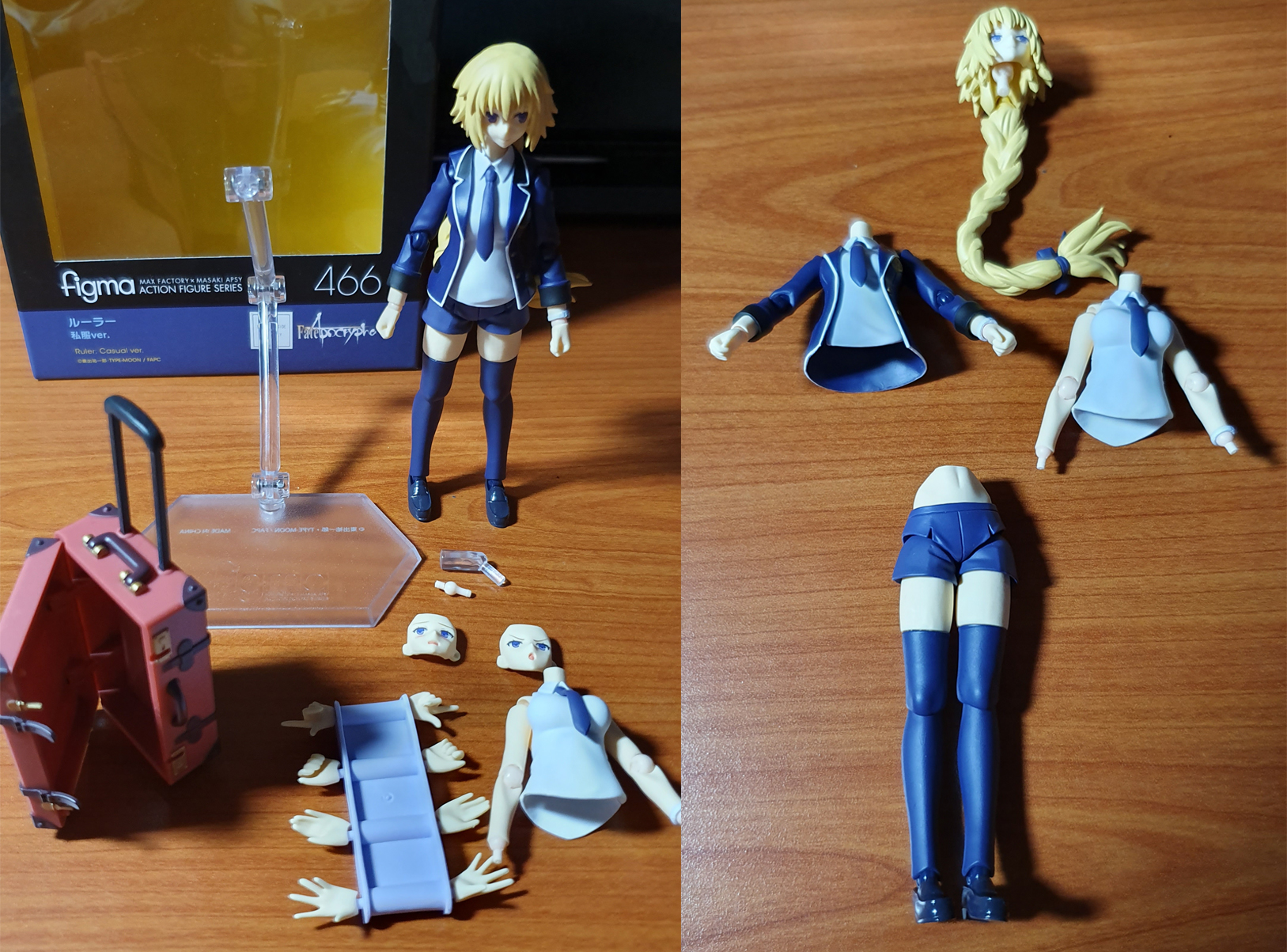 Figma Casual Jeanne Accessories