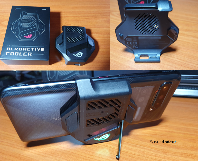 Asus ROG Phone 5 AeroActive Cooler Fan