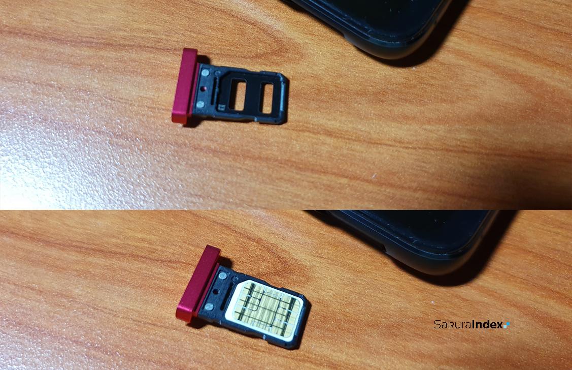 Asus ROG Phone 5 SIM Tray